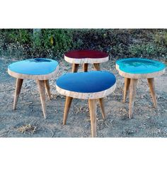 Side Table Caramelos. Cute side tables in different colors.
