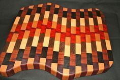 Gorgeous Endgrain Cutting Board CB28 by hojowoodworking on Etsy, $125.00