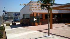 Montaje pérgolas y porches carpintería para restaurantes PARTE [ 16 ] MONTAJES M3