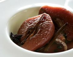 Slow-baked quince with honey yoghurt