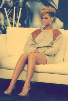 I don't have the words to describe this yet.  Rihanna's looking badass here.