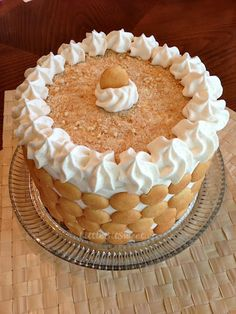 Banana Pudding Cake Recipe!!! I Just had my first slice of HEAVEN!  There is truly no telling the difference between this cake and the actual banana pudding, Lord!  AWESOME