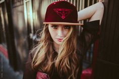 Beautiful fashionable young woman on the streets of San Francisco by HOWL - Stocksy United Young Women, San Francisco, Baseball Hats, The Unit, Stock Photos, Photo And Video, Street, Image, Beautiful