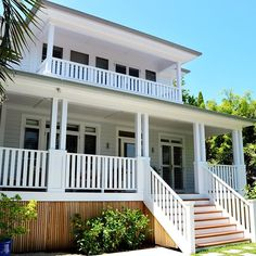 Fabulous porch design covered Join the Beta Beach Cottage Exterior, Beach Cottage Decor, Coastal Cottage, Coastal Homes, Coastal Living, Beach Cottage Style, Hamptons Style Homes, Hamptons House, Porch Kits