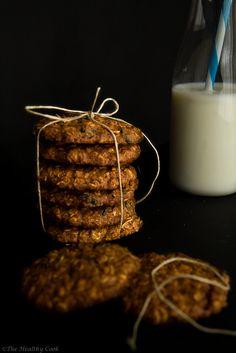 Oatmeal Cookies with Blueberries Μπισκότα Βρώμης με Μύρτιλα