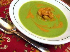 Crema de Fabiola Soup - Cream of Poblano