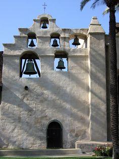 Bells of Mission San Gabriel Arcangel, San Gabriel, California