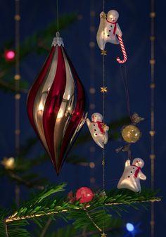 Blender Cycles Christmas rendering by BlenderMama