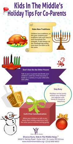 Kids In The Middle's #HolidayTips For Co-Parents