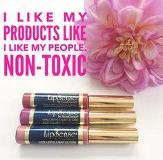 LipSense has no lead, no GMO, and NEVER tested on animals! Distributor # FB: Polished and Put Together.