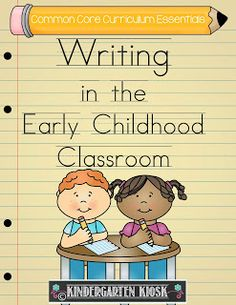 Teaching Young Children To Write