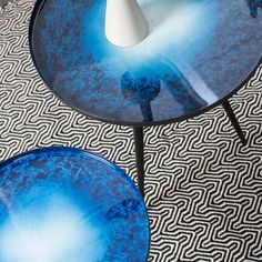 Buy the Zuiver Flow Set of 2 Nesting Tables in Blue Oil Drop today! FREE Delivery and a Price Match Guarantee. We offer a truly Unique Shopping Experience with Award Winning 5 Star Customer Service, Great Deals and Huge Savings! Aluminum Table, Luxury Decor, Nesting Tables, New Home Gifts, Garden Gifts, Unusual Gifts, Color Of The Year, Wow Products, Table Settings