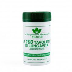 LE 100 TAVOLETTE DI LUNGAVITA - Regolano il transito intestinale