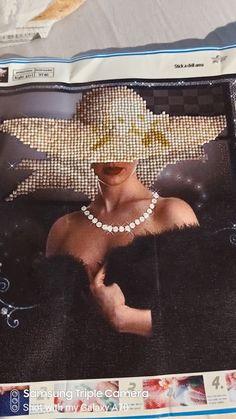 Diamond artwork Diamond, Lady, Artwork, Work Of Art, Diamonds