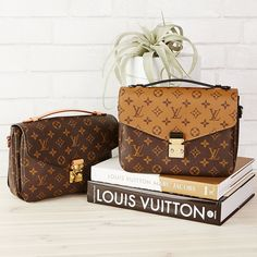 LV Monogram Pochette Metis Bags - LV Pochette - Latest and trending LV Pochette. Popular Handbags, Cheap Handbags, Luxury Handbags, Purses And Handbags, Luxury Purses, Designer Handbags, Designer Bags, Luxury Bags, Tote Handbags