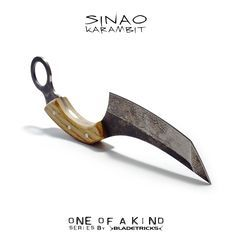 Tanto Sinao Karambit, Bladetricks Original hand made knives