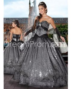 Charming Sweetheart Sleeveless Floor-length Ball Gown Quinceanera Dresses