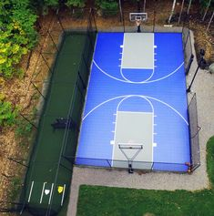 Sport Court New England provides custom batting cages and netting that can be installed to the exact dimensions and specifications to fit your backyard. Backyard Sports, Backyard Games, Backyard Ideas, Quito, Batting Cage Backyard, Outdoor Basketball Court, Outdoor Fun, Outdoor Ideas, Outdoor Landscaping
