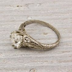 It's like someone went into my brain and plucked out this ring, perfect