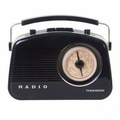 THOMSON Vintage European Style AM/FM Radio AC Power/Battery | Radios & Receivers | Gumtree Australia Manningham Area - Doncaster | 1115256462