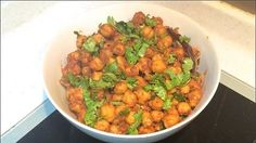 Dry Masala Chickpeas (Sukhe Safed Chane) | Indian Vegetarian Recipes - How to make
