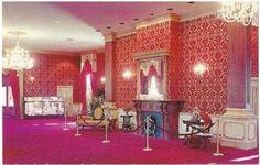 Millville NJ Lobby Wheaton Museum of Glass Vintage Postcard New Jersey Chrome