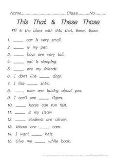 FUN & LEARN : Free worksheets for kid: แบบฝึกหัดภาษาอังกฤษ ...