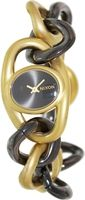 Nixon Women's Alice A161595-00 Two-Tone Stainless-Steel Quartz Watch with Black Dial