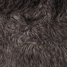 Faux Fur Fox Charcoal from @fabricdotcom  Spoil yourself with this exquisite long hair faux fabric. Fur has 2'' pile, a luxurious hand and a soft subtle sheen just like the real thing! Make gorgeous jackets, coats, wraps, fashion accessories, pillows, throws and more!