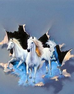 Fine art by master artist Jim Warren. Features new paintings and many classics. Horse Oil Painting, Surrealism Painting, Most Beautiful Horses, Pretty Horses, Horse Running Drawing, Image Deco, Horse Cards, Horse Wallpaper, Horse Artwork