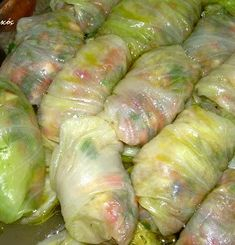 Greek Cooking, Greek Recipes, Fresh Rolls, Asparagus, Cabbage, Food And Drink, Vegetables, Ethnic Recipes, Sweets
