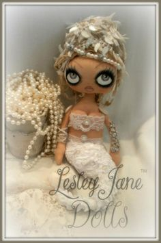 Gorgeous!!!  Destiny Covecryer  © Lesley Jane Dolls 2012  ~Sold~