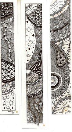 Zentangle o el arte de pintar garabatos