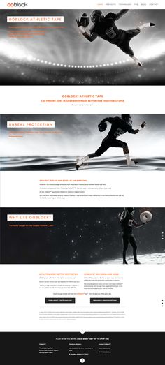 Naming, branding, and website design for an innovative athletic tape—design by Raison.