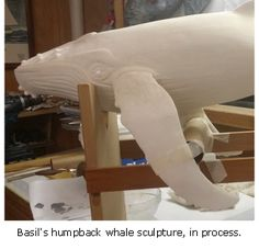 Paper Mache Humpback Whale Sculpture Tutorial – Guest Post – Ultimate Paper Mache