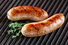Homemade chicken sausages