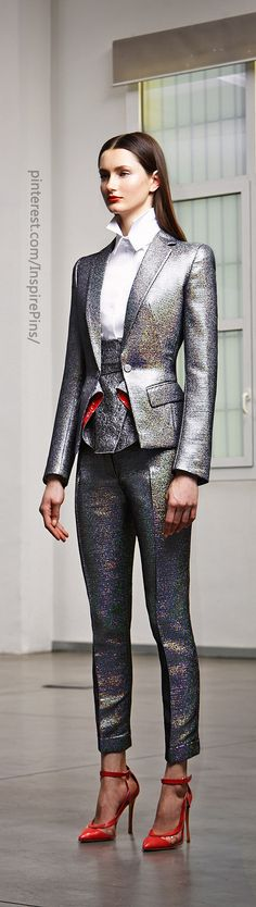 Antonio Berardi || Portrait - Silver - Fashion - Editorial - Photography