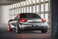 """Known as the """"German Mini-Corvette"""", the Opel GT Concept 2016 is a magnificent piece of automotive design. """"The GT trades on a name first applied… Opel Gt Concept, Automobile, Geneva Motor Show, Car Magazine, Car And Driver, Transportation Design, Automotive Design, Corvette, Future"""