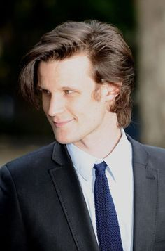 Matt Smith.  Good hair day. :)