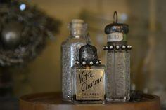 Mammabellarte: What a beautiful mess!  solder mini bottles, glitter, rhinestones