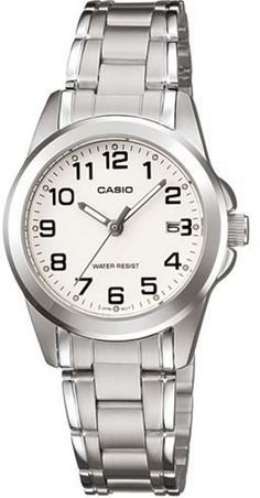 CASIO LTP-1215A-7B2DF Ladies' Watch Silver