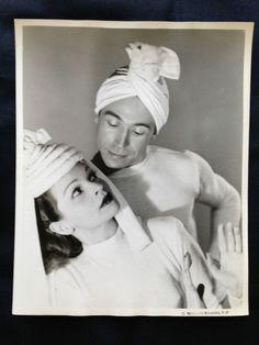 1946 RUTH MATA & EUGENE HARI VINTAGE ORIGINAL 8X10 PHOTO BY G.M.KESSLERE