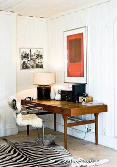 The SpaceMaker's Journal - THE SPACEMAKER - INTERIORS BY PETER GRECH Home Office Space, Home Office Design, Home Office Decor, House Design, Office Designs, Office Workspace, Workspace Inspiration, Interior Inspiration, Colorful Interior Design
