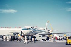 DC-8 | Found slide from a series shot in the late 50s or ear… | Flickr