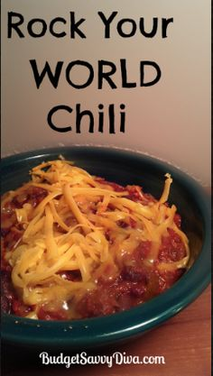 Crock pot chili: tasted great and easy/cheap to make. Didn't add beer so remember to add water next time so it's not so thick.