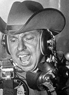 Slim Pickens as Major King Kong Old Western Actors, Western Movies, Slim Pickens, Sterling Hayden, Dr Strangelove, The Poseidon Adventure, Cowboy Images, Thing 1, Stanley Kubrick