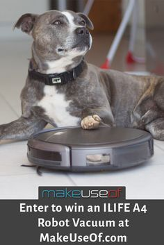 Enter to win an ILIFE A4 Vacuum from MakeUseOf.com!