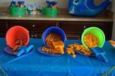 Snacks at a Under the Sea Party #underthesea #partysnacks