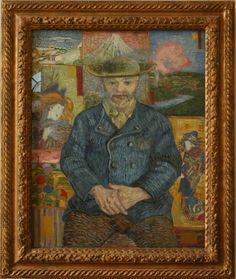 Vincent van Gogh portret portrait portraet 863px Le Pere Tanguy 580x688 Vrouw in kimono bij Vincent van Gogh, Georg Breitner, Claude Monet