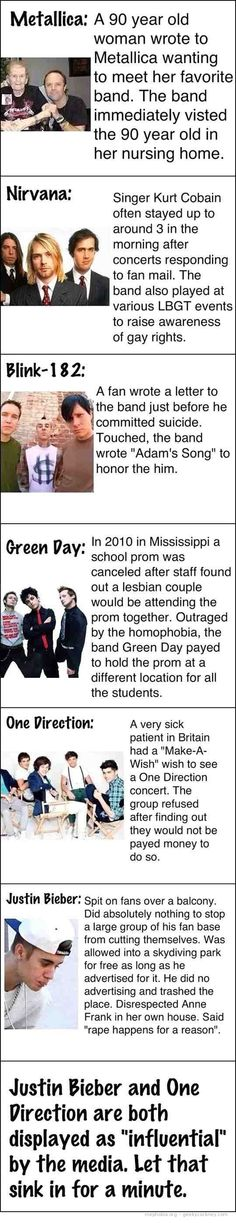 Lol love this ...so true . Those ppl are true legends instead of beibs and 1D SORRY NO OFFENSE , Plz don't take hate